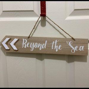 "NWT ""Beyond The Sea"" Nautical Wall Decor."